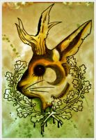 jackalope by sentagoda