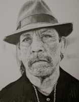 Danny Trejo by graphartist64