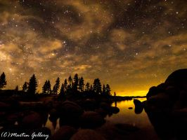 Sand Harbor Stars 150418-4 by MartinGollery