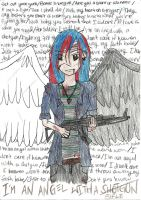 Angel with a Rifle XD by gateway-to-hell