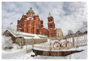 Uspenski Cathedral by Pajunen