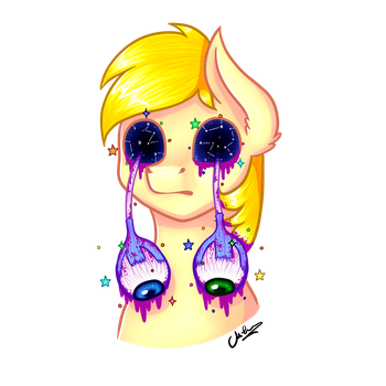 Creefears Pastel Gore by MilenaMelody