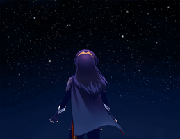 Looking at the Skies by cocoamiri