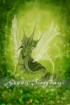 fairydragon birthdaycard by vidimento