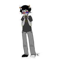 Sollux Captor: fourth tablet drawing by EmiAnimeOriginal
