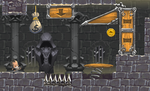 Dungeon Sprint graphics test by ArtByElde