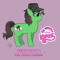 Team Kroze Pony by neilak20
