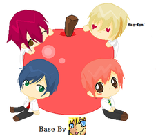 Apple My O.C (I USED A BASE) by AlisaYeung