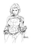 Power Girl2 by devgear