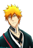 The Strawberry: Kurosaki Ichigo ( REMASTERED) by master-cartoonist
