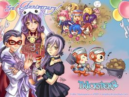 Trickster Online Anniversary by AikaHY