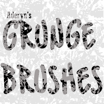 Grunge Brushes by Aderyn-Azula
