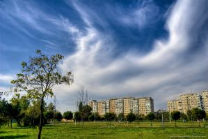 Clouds storm HDR by ScorpionEntity