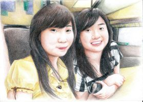 Henny Tan and Theresia Chung by iCHig0man