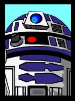 R2 D2 by PLANETKURTH
