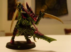 Tyranid Warrior_female by Furious-Winds