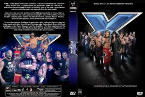 Decade of Smackdown DVD Cover by Chirantha