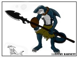 Charcter - SharkMAN Done! by Timeothy333