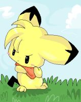 Pichu by Pure-Heart-Latios