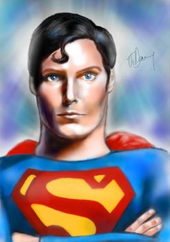 Superman Christopher Reeve by JD3366