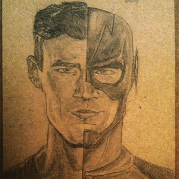 CW's the Flash/ Barry Allen by ChaseSuissa12