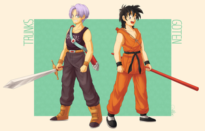 Sword Fighters by Millaii