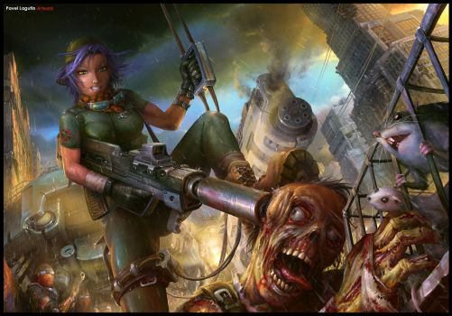 Zombie Busters by Lagutin