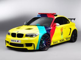 BMW E82 1 M Coupe MotoGP Safety Car by MOMOYAK by MOMOYAK