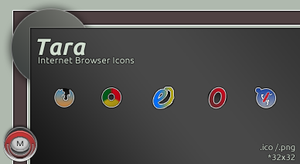 Tara Internet Browsers icon by vi20RickrMetal12us