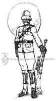 Royal Space Expeditionary Force Soldier by GTDees