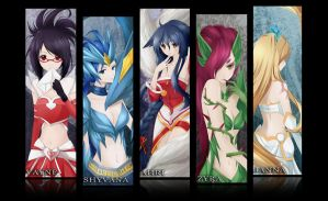 LoL: League of Females by Fuyuume