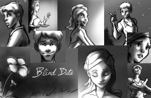 Blind Date panels by RayOcampo