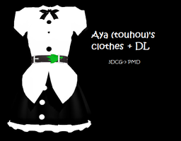 MMD : Aya's clothes +DL by Chibi-Baka-San