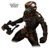 Dead Space - Isaac Render - by StaffOnly - 2 by StaffOnlyGraph