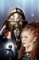 Farscape Dargo issue 2 cover by MDiPascale