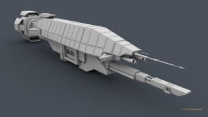 B5 Warlock Destroyer WIP 2 by 2753Productions