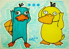 Perry and Sydok by KarlaTerry
