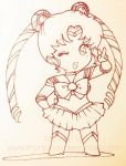 140116 Sailor Moon Chibi by shortpinay