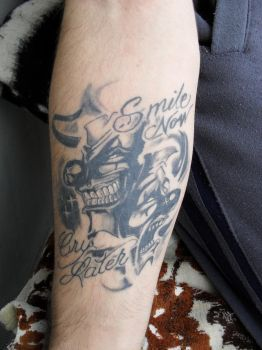 My 1st Tatto by DaGame-One