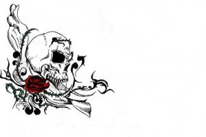 Another tatoo design by Satroa
