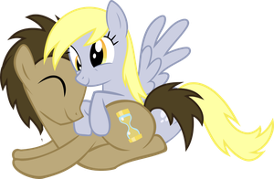 DoctorDerpy Cuddle by asdflove