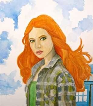 Amy Pond by Trista-Willows