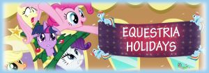 Equestria Daily Holidays Banner Entry by HatEnsemble