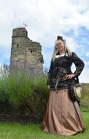 Steampunk at Tutbury Castle 2014 (1) by masimage