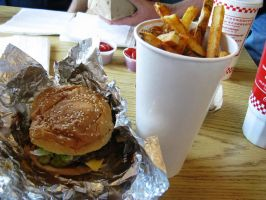 Five Guys Meal by BigMac1212
