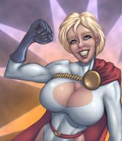 Power Girl by umbrafox