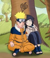NaruHina - kids by odinforce23