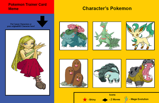 Cornelia Hale's Pokemon Trainer Card by Hillygon