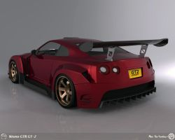 GTR gt2 - Back view by AfroAfroguy