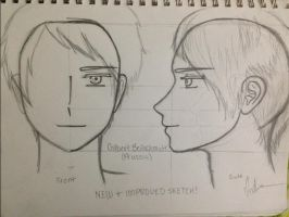 IMPROVED Gilbert Beilschmidt (Prussia) Sketch-Out by Myindiansummer